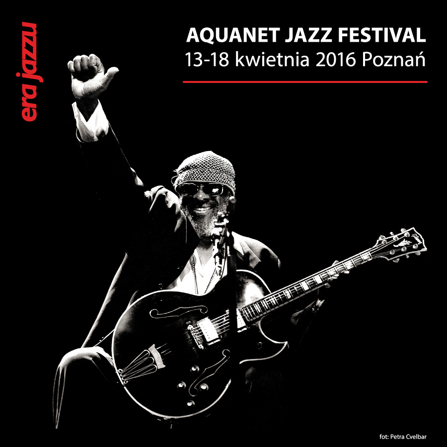 Photo of James Blood Ulmer for promotion Era Jazzu 2016 Aquanet Jazz Festival