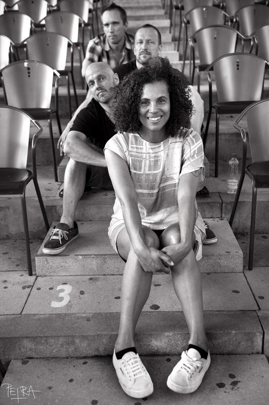 Portrait of Neneh Cherry & The Thing