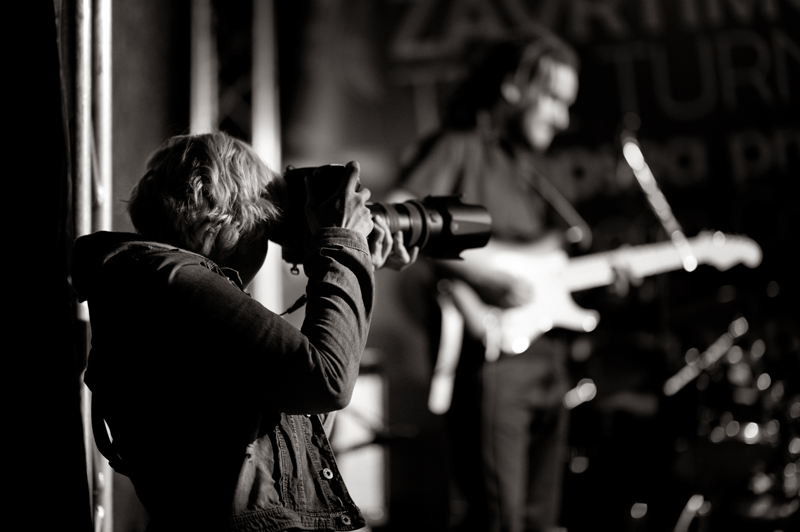 Being a music photographer