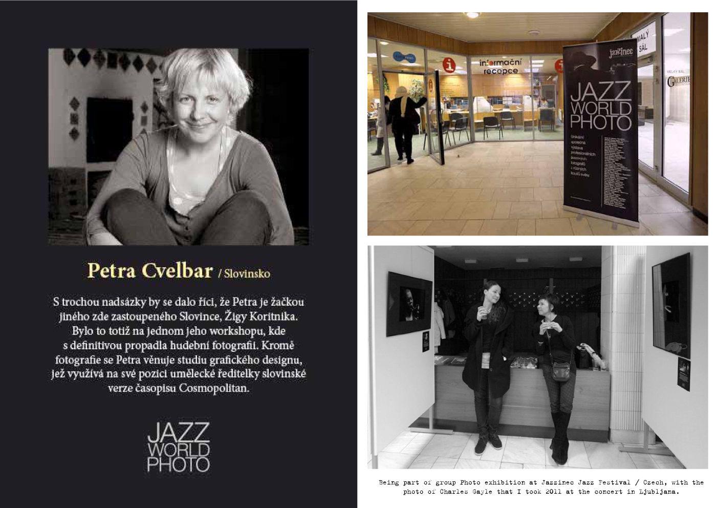 Group Photo Exhibition at Jazzinec Jazz Festival / Czech