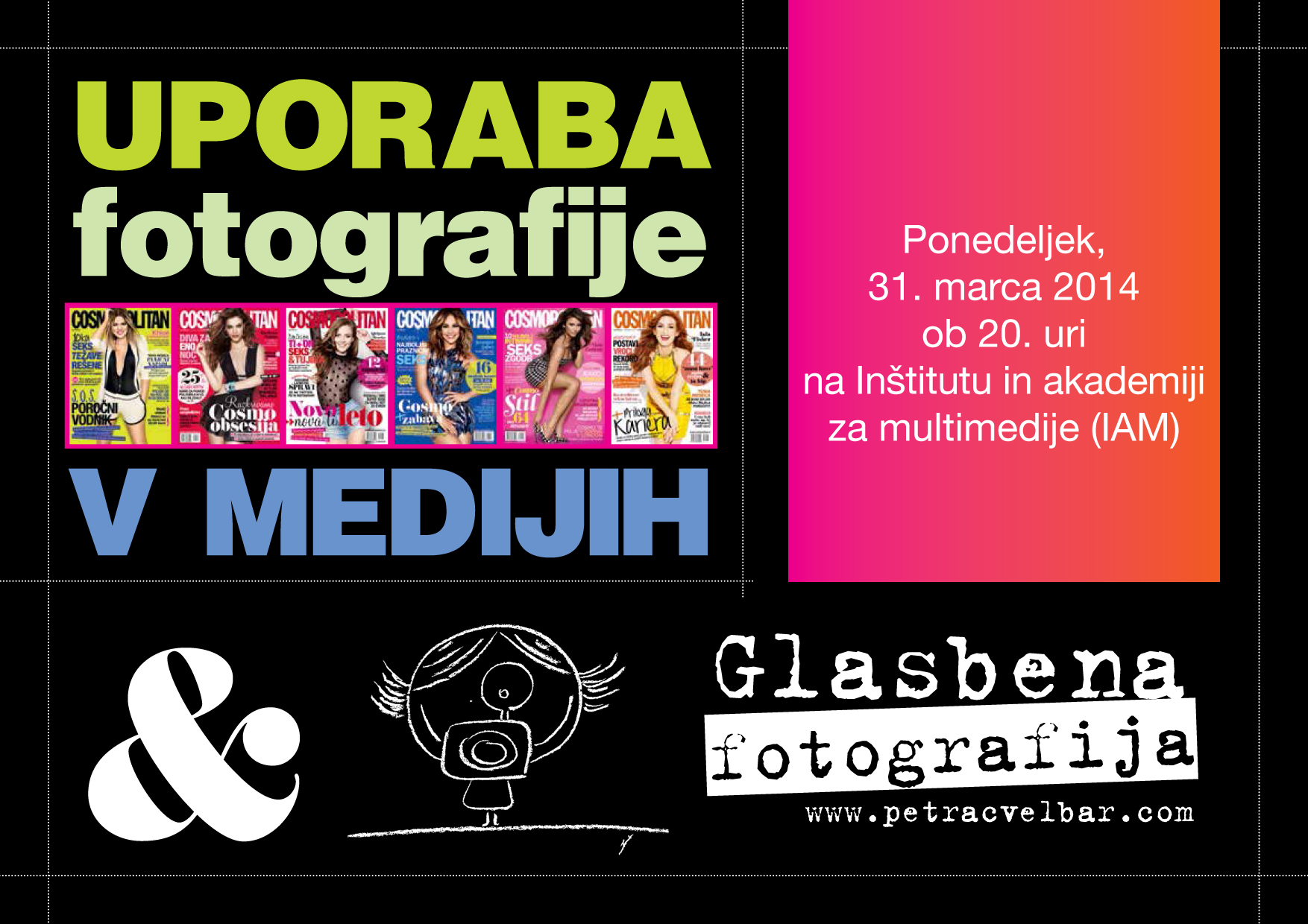 Lecture about Editorial and Music Photography at IAM