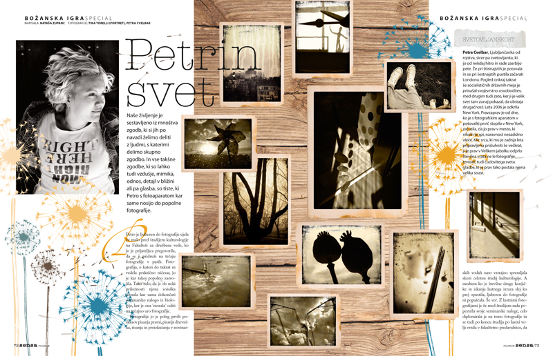 About Petra's World in Sensa Magazine