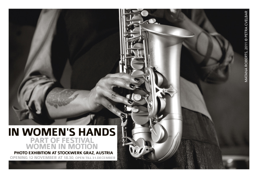 Upcoming exhibition In Women's Hands at Stockwerk Graz