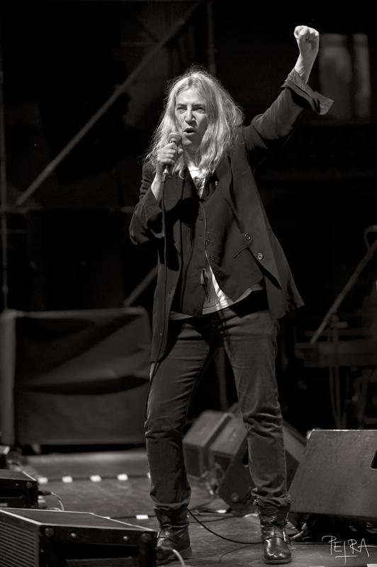 Patti Smith at Ljubljana, Krizanke, Slovenia