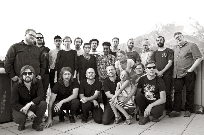 Taking Portrait of Fire! Orchestra at Saalfelden Jazz Festival