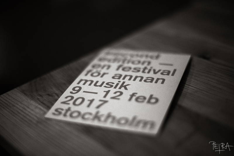 FESTIVAL SECOND EDITION, STOCKHOLM, SWEEDEN