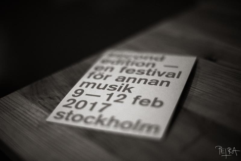 FESTIVAL SECOND EDITION, STOCKHOLM, SWEEDEN