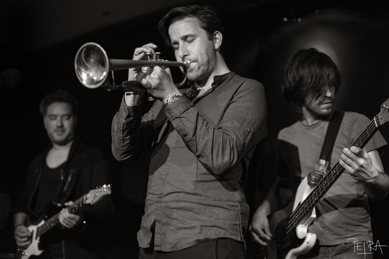 Igor Matković quintet at Bar Gabrijel, Cerkno, Slovenia