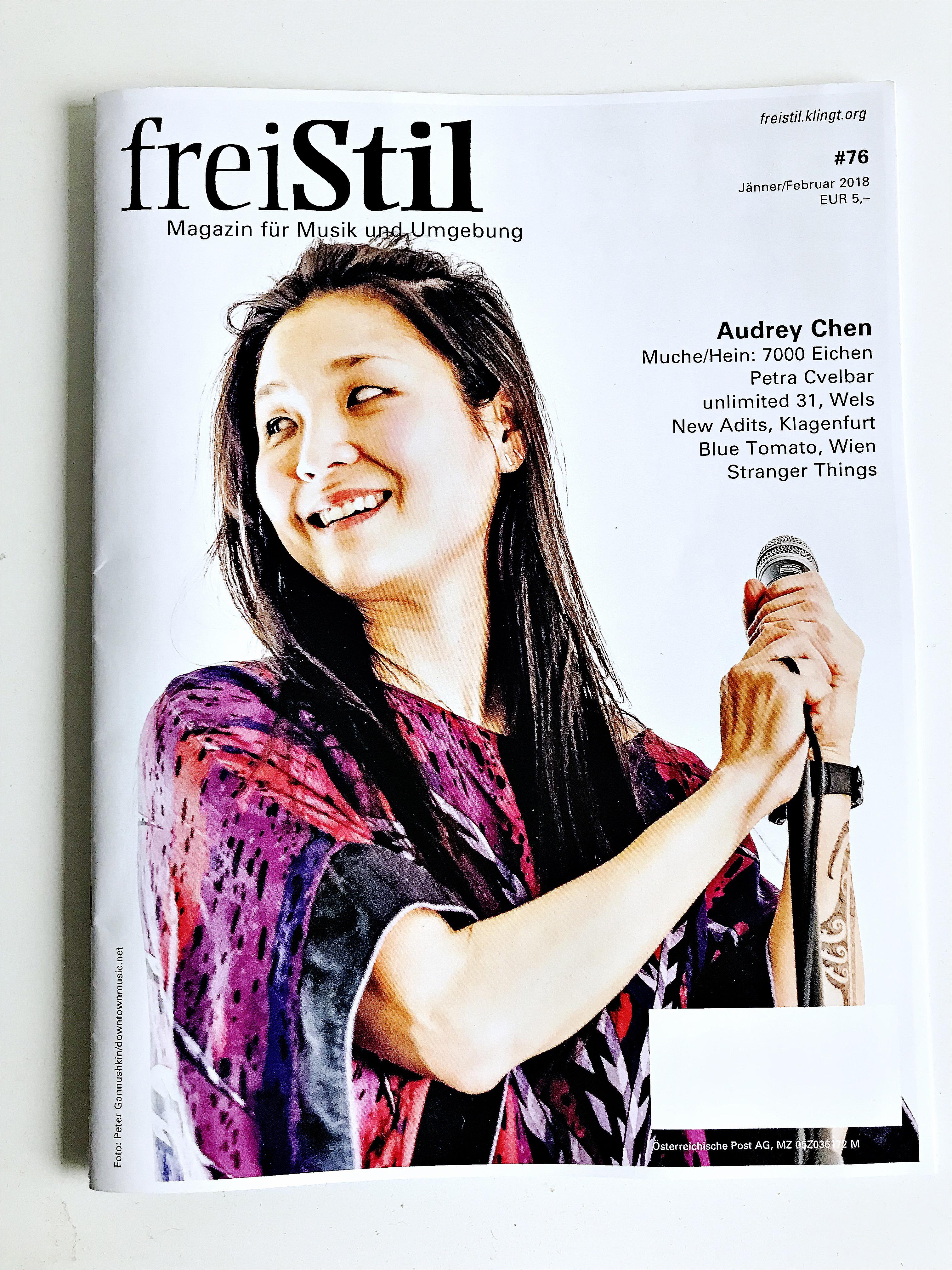 Interview at FreiStil Magazine