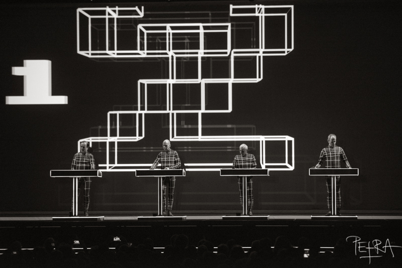 Kraftwerk 3-D, Tivoli Hall, Ljubljana, SLO