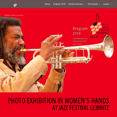 Photo Exhibition In Women's Hands at Jazz Festival Leibnitz