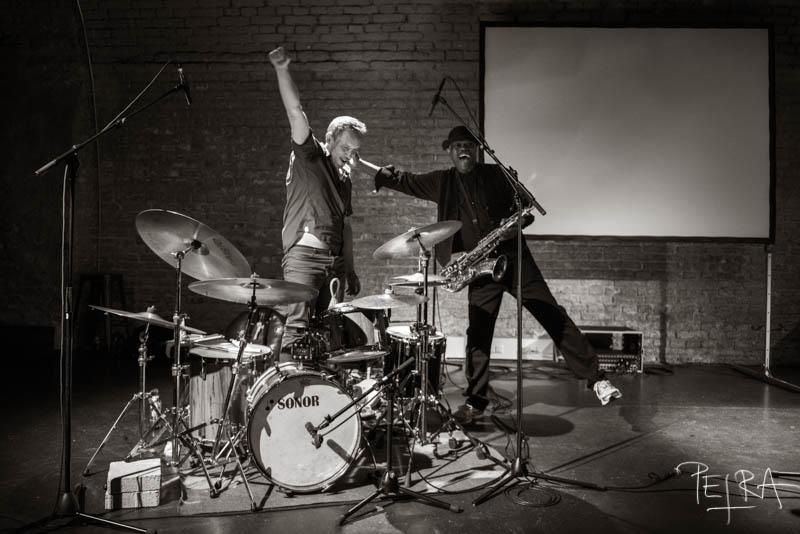 Duo Joe McPhee & Paal Nilssen-Love, Offene Ohren e.V., Munich, Germany